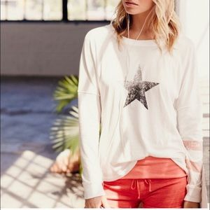 Free People Movement Tate Star Graphic Tee